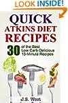 Atkins: Atkins Cookbook and Atkins Re...