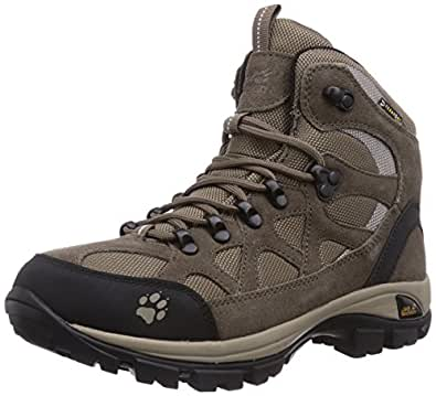 Jack Wolfskin All Terrain Texapore, Chaussures de randonnée femme - Beige (Moon Rock 5041), 37 EU