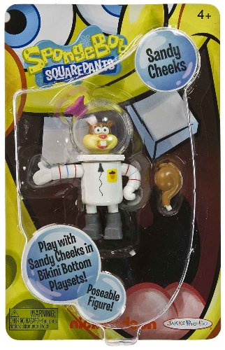 Buy Low Price Jakks Pacific Sandy Cheeks 3.4″ Posable Mini-Figure: SpongeBob Squarepants Series (B004YL91PG)