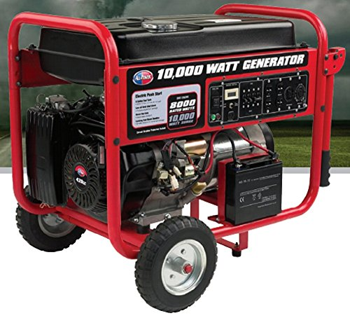 All Power 10000W 15Hp Gas Powered Rv Portable Generator Electric Start JDM Auto Lights B00MGME5R4
