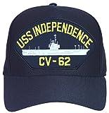 USS Independence CV-62 Ship Ball Cap