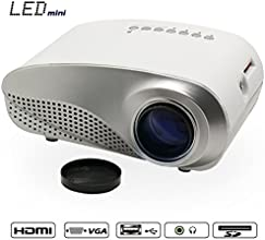 Sourcingbay HDMI Mini LED Multimedia Projector Home Cinema Theater Support AV TV VGA USB HDMI SD