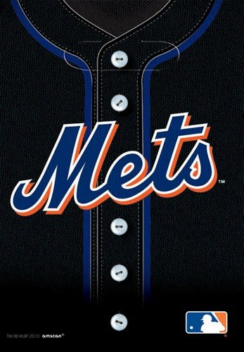 MLB New York Mets Favor Bags (8ct)