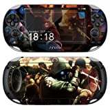 Sony PS Vita-1000 RESIDENT EVIL Protective Vinyl Skin Decal Set