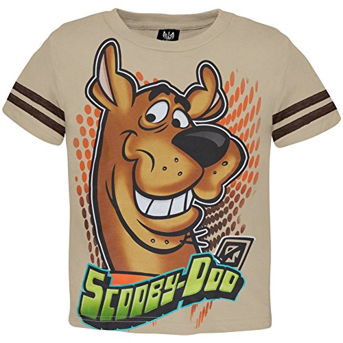 Scooby-Doo - Smiling Juvy Jersey T-Shirt - Juvy 5/6 front-439467