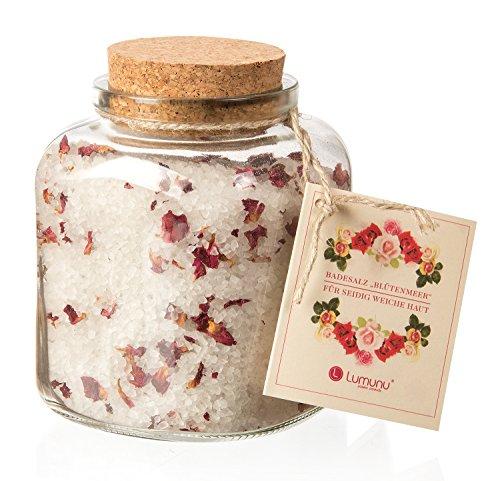 Deluxe Natur Badesalz Rosen Blütenmeer