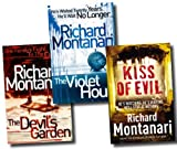 Richard Montanari Richard Montanari Collection 3 Books Set Pack RRP: £ 20.97 (The Violet Hour, The Devil's Garden, Kiss Of Evil) (Richard Montanari Collection)