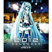 HATSUNE MIKU 2012 CALENDAR 【カレンダー】