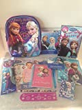 Disney Frozen Elsa & Anna Small Backpack of Fun Gift Set perfect for Christmas Stocking Stuffers, Easter Basket Fillers, Birthdays and other Special Occassions