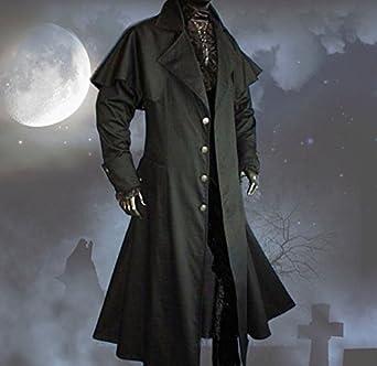 inter moden tageskleidung herren gothic kutscher mantel. Black Bedroom Furniture Sets. Home Design Ideas