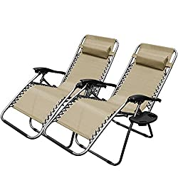 XtremepowerUS Zero Gravity Chair