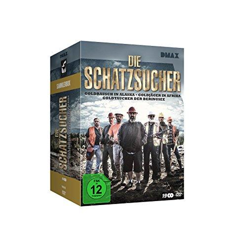 Die Schatzsucher - Goldrausch - Sammler-Box [19 DVDs] hier kaufen
