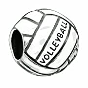 Chamilia Sterling Silver Volleyball Bead Charm