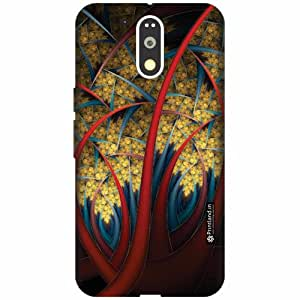 Printland Designer Back Cover for Motorola Moto G4 Plus - Creative Art Case Cover
