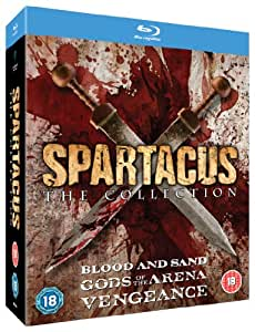 The Spartacus Collection (Gods of the Arena, Blood and Sand, Vengeance) [Blu-ray]