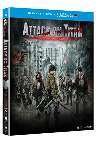 Attack on Titan Movie: Part 2 (Blu-ray/DVD Combo + UV)
