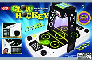 Buy POOF-Slinky 33308 Ideal Glow Hockey Air Hockey Table by Ideal