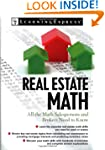 Real Estate Math: All the Math Salesp...
