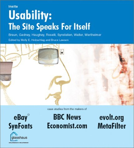 Usability: The Site Speaks for Itself