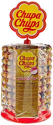 Chupa Chups 180 plus 20er Lutscherrad (200 x 12 g)