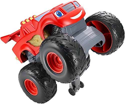 Nickelodeon Blaze and the Monster Machines Super Stunts Blaze (Spin Hubcaps compare prices)