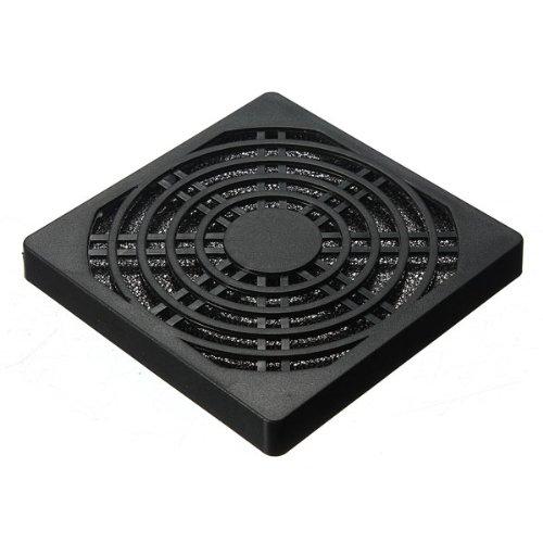 filtre anti-poussire tanche la poussire pour ventilateur d'ordinateur 80mm noir