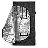 Hydroponics grow tent is a high quality and safe product which is designed especially for horticulture industry. It will offer you ultimate control over your Plants' environment; result in strong and healthy plants with increased yield. All metal con...