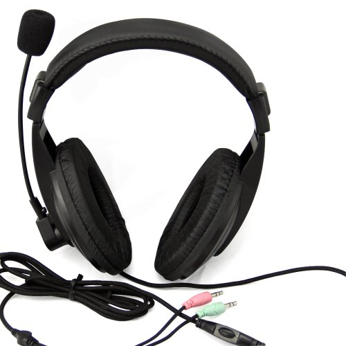 Etekcity® Professional Stereo Headphone Headset Tx3 3.5Mm With Mic Microphone For Computer Pc Laptop Notebook