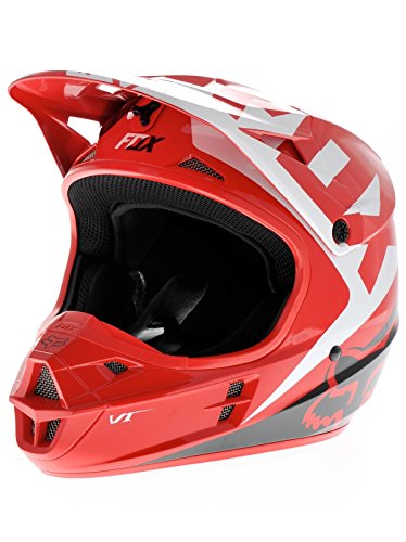 Fox Red 2015 V1 Race MX Helmet