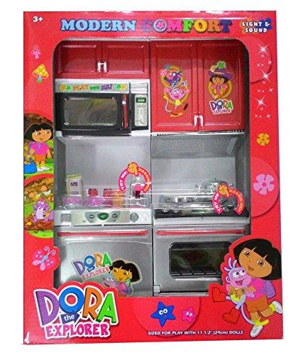 Azi Small Dora Plastic Kitchen Set For Kids