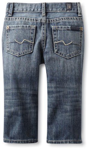 Hot Deal 7 For All Mankind Baby-boys Infant The Austyn, Indigo Blue, 24 Months  Best Offer