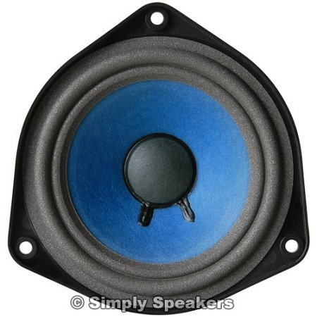 "4-1/2"" Bose 901, Bose 802 Style Replacement Speaker Full Range, Paper Cone, Foam Edge, 1 Ohm, F-901"
