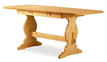 Table Paride Fratino 130 extensible naturel