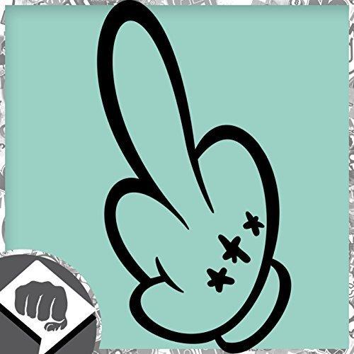 topolino-dito-medio-gesto-del-dito-medio-mano-etichetta-adesivo-dub-dubway-bianco-interno