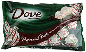 Dove Promises Silky Smooth Peppermint Bark, 7.94-Ounce (Pack of 4)