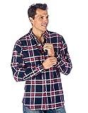 Noble Mount Mens Cotton Flannel Regular Fit Shirt