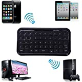 HDE Mini Travel Size Bluetooth 3.0 Wireless Pocket Keyboard for PS3, Tablets and Smartphones