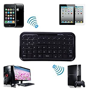 HDE Bluetooth 3.0 Rechargeable Mini Wireless Keyboard for PS3, iPhone, iPad, and Smartphones