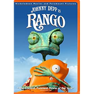 Rango DVD