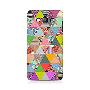 Ebby Colorful Triangles Premium Printed Case For Samsung On 7