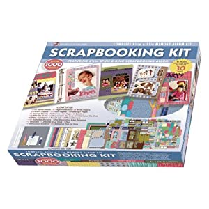 Super Deluxe Box Scrapbook Kit
