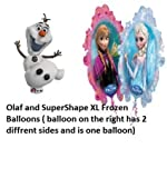 Olaf Supershape XL and Frozen Sister Supershape XL Pair
