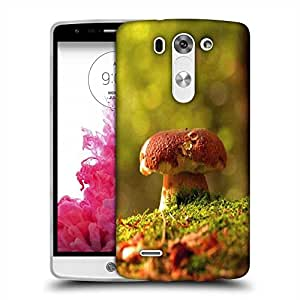 Snoogg Multicolor Mushroom Designer Protective Phone Back Case Cover For LG G3 BEAT