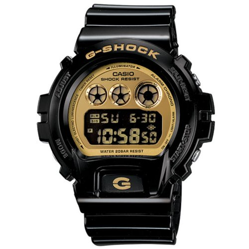 G-Shock 6900 Black/Gold DW-6900CB-1CR Watch