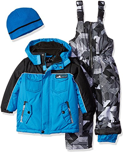 iXtreme Boys' Colorblock and Print Better Snowsuit