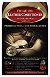 Leather Conditioner - THE BEST Leather Restorer & Protector for Cars, Leather Furniture, Shoes, Boots, Purses, Jackets, Sofa, Couch, Seats, Saddles & More - Antibacterial Cleaner Added - 16 Oz Cream - Bonus Applicator Cloth - 100% GUARANTEED!