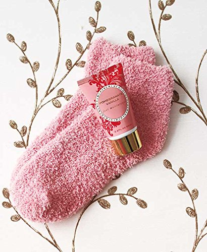 Cozy Sock and Lotion Gift Box Sets (Pomegranate Vanilla)