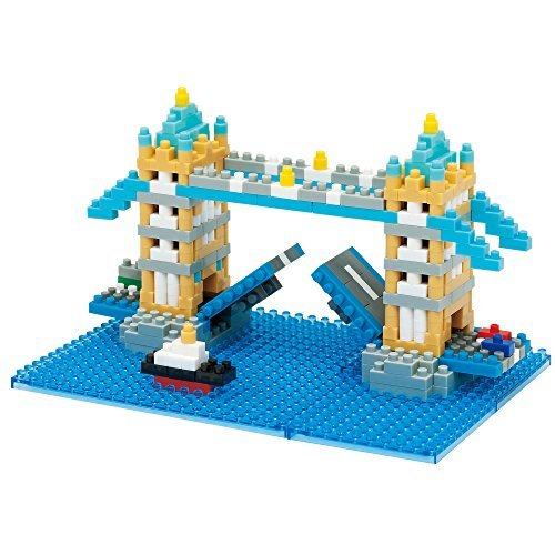 Kawada Nanoblock TOWER BRIDGE London UK Building Kit by Kawada