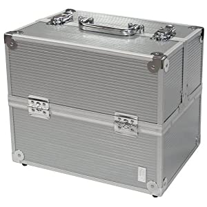 Amazon.com: Caboodles Pro Cosmetic Case - Silver: Beauty