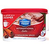 Maxwell House International Latte: Cinnamon Spice (Pack of 2) 9.1 oz Size